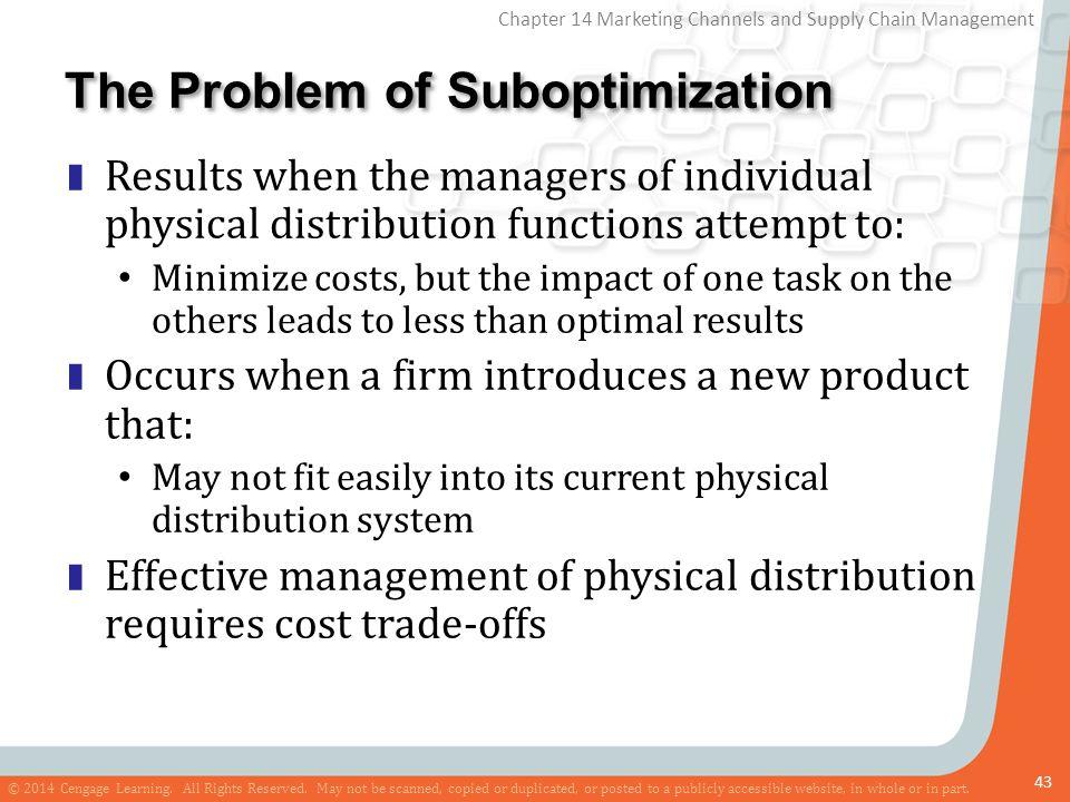 The Problem of Suboptimization