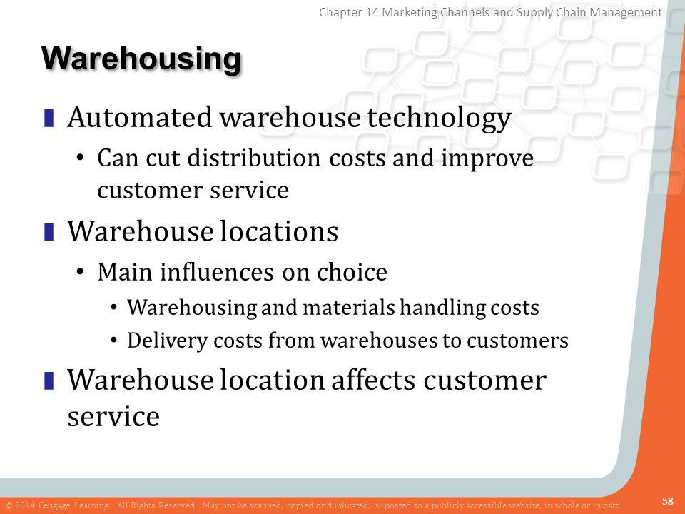 Warehousing Automated warehouse technology Warehouse locations