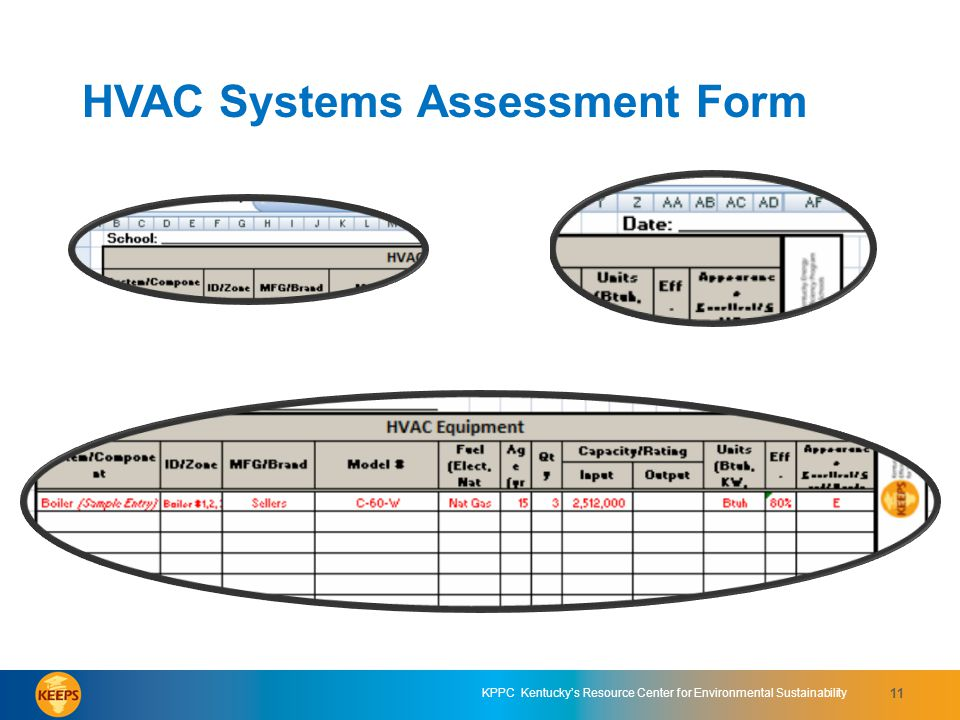 HVAC Systems Assessment Form 1
