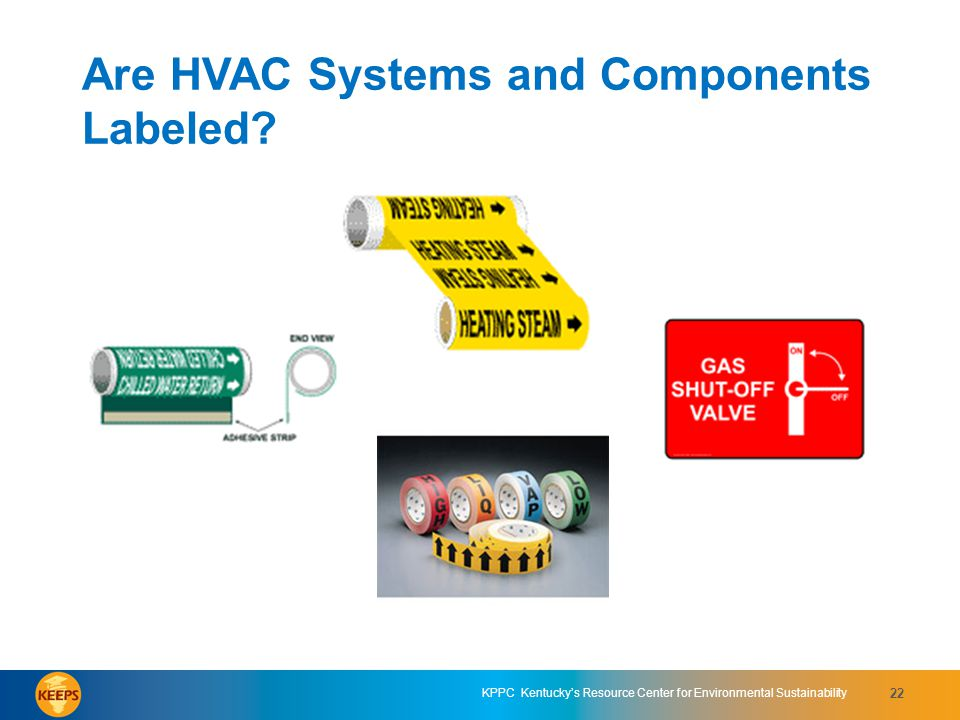 Are HVAC Systems and Components Labeled