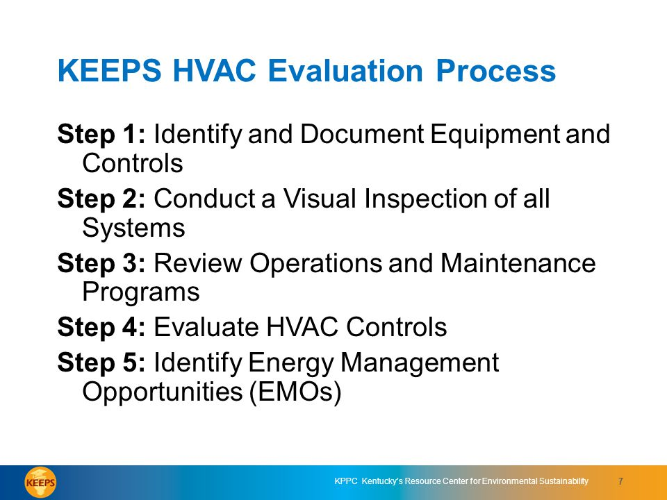 KEEPS HVAC Evaluation Process