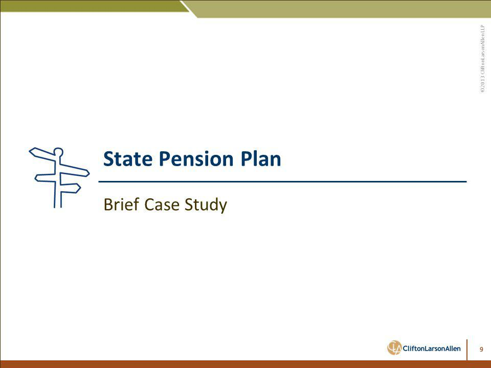 State Pension Plan Brief Case Study