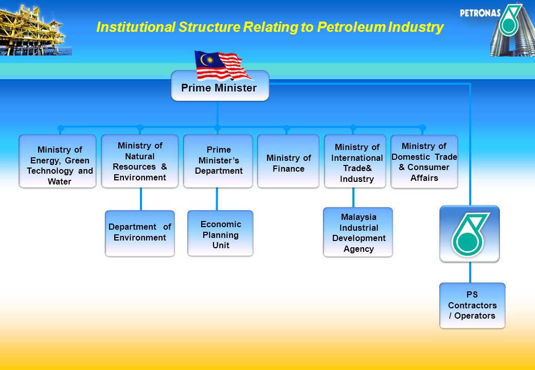Institutional Structure Relating to Petroleum Industry