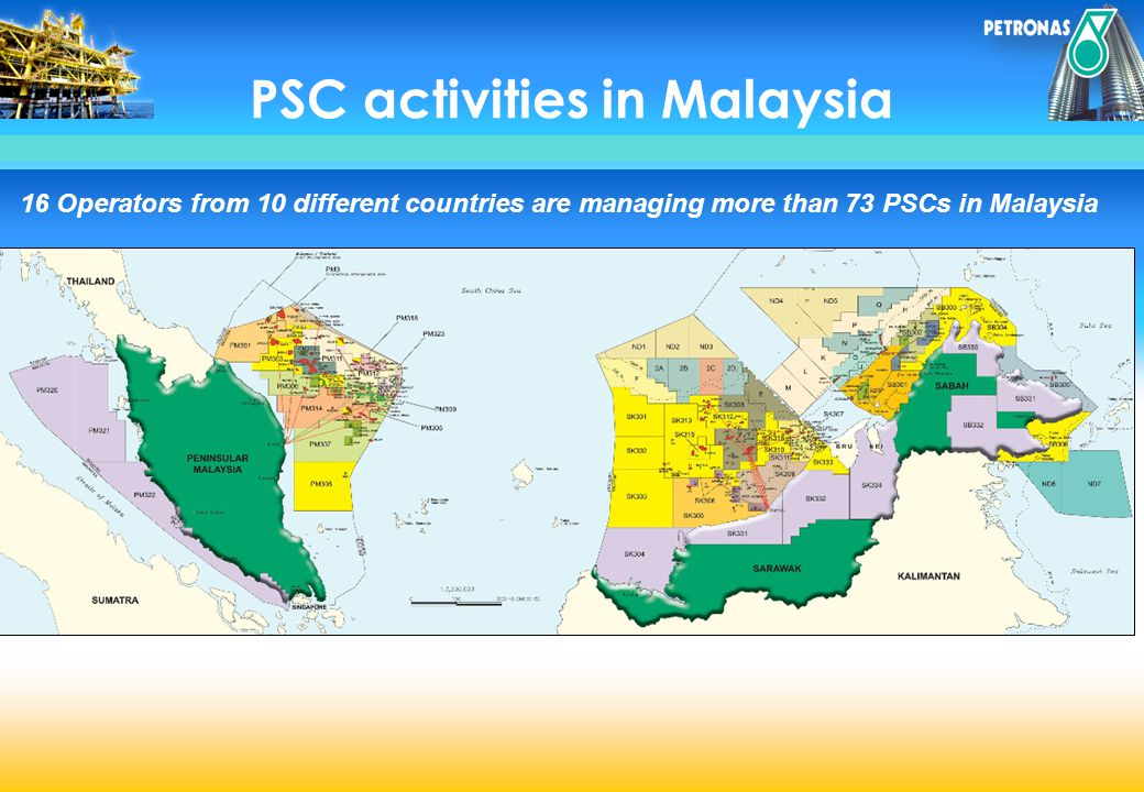 PSC activities in Malaysia