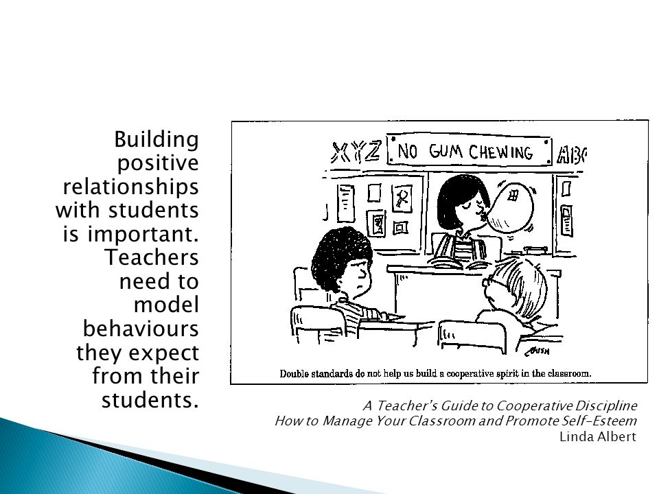 Building positive relationships with students is important