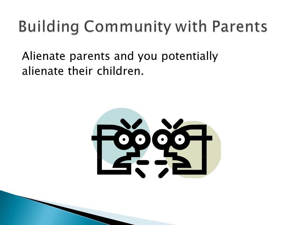 Building Community with Parents