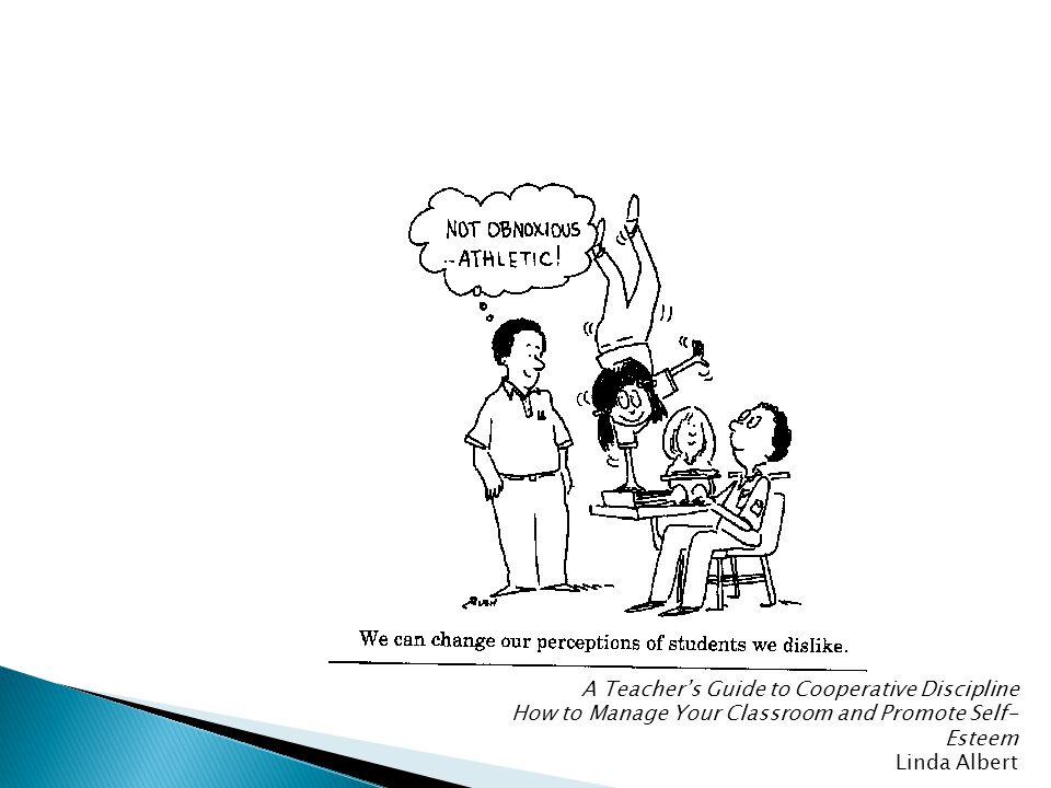 A Teacher's Guide to Cooperative Discipline