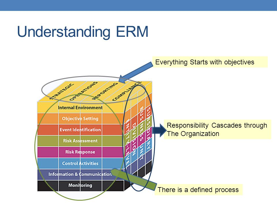 Understanding ERM Everything Starts with objectives
