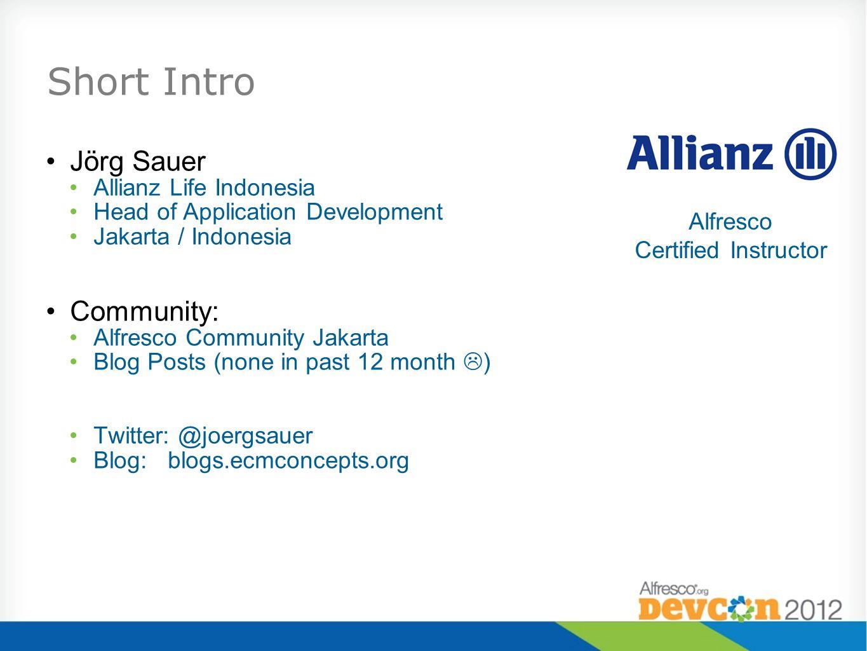 Alfresco Certified Instructor