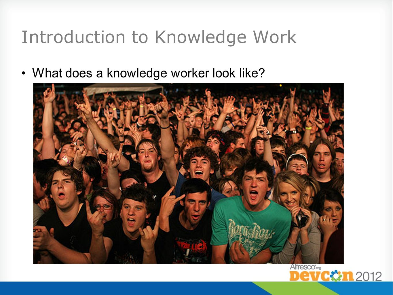 Introduction to Knowledge Work