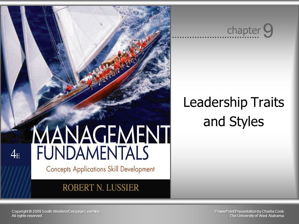 Leadership Traits and Styles