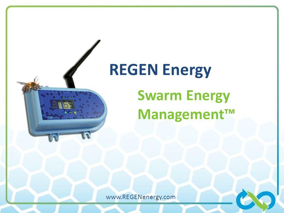 1/20/2009 REGEN Energy Swarm Energy Management™ www.REGENenergy.com