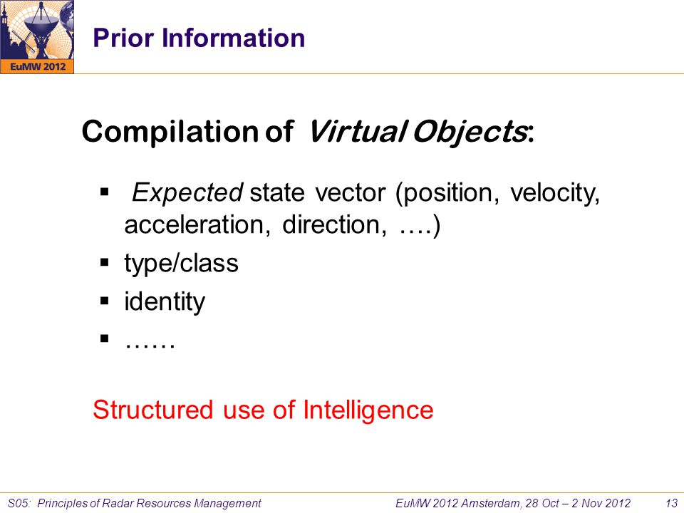 Compilation of Virtual Objects: