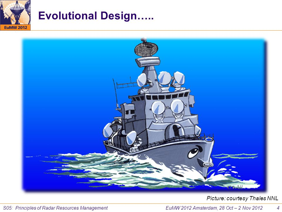 Evolutional Design….. Picture: courtesy Thales NNL