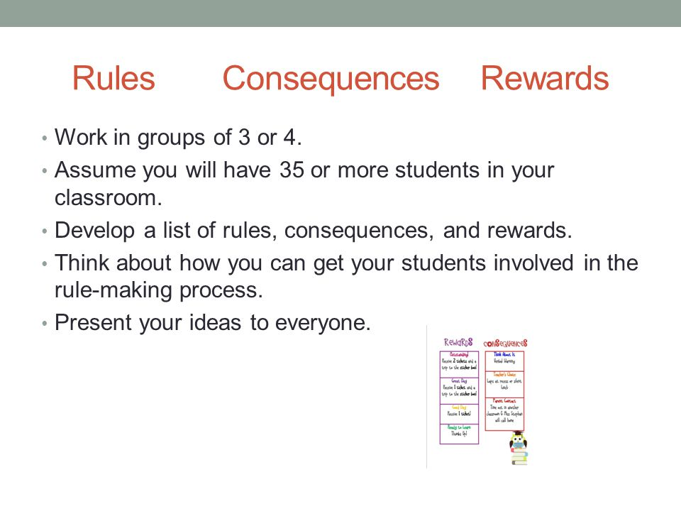 Rules Consequences Rewards