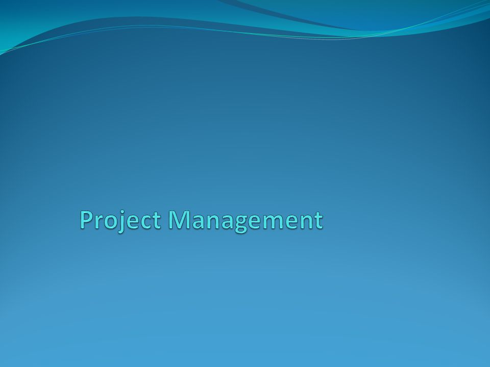 Project Management For the last day and a half we've talked about the APD process – how to get the funding and approval for your project.