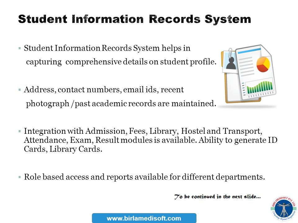 Student Information Records System
