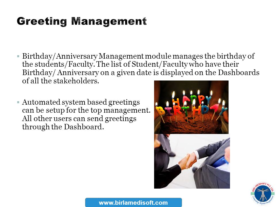 Greeting Management