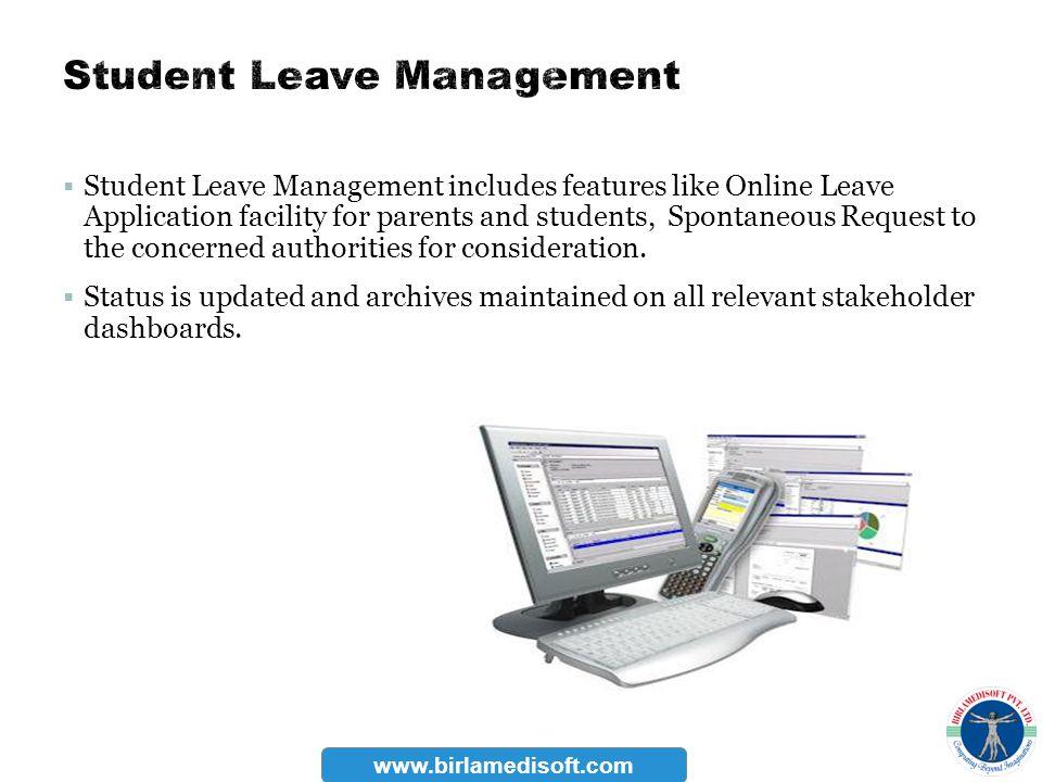 Student Leave Management