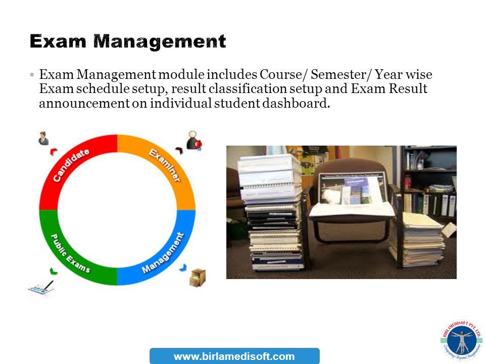 Exam Management