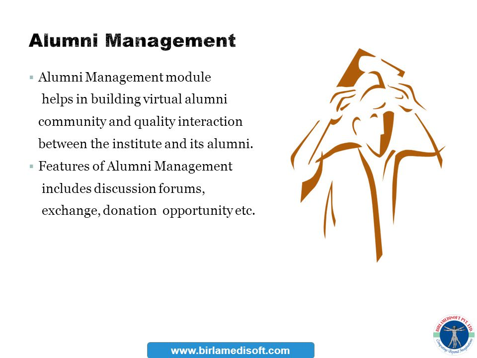 Alumni Management Alumni Management module