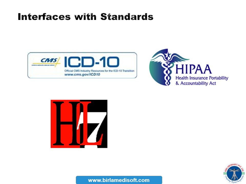 Interfaces with Standards