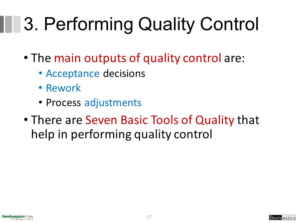 3. Performing Quality Control