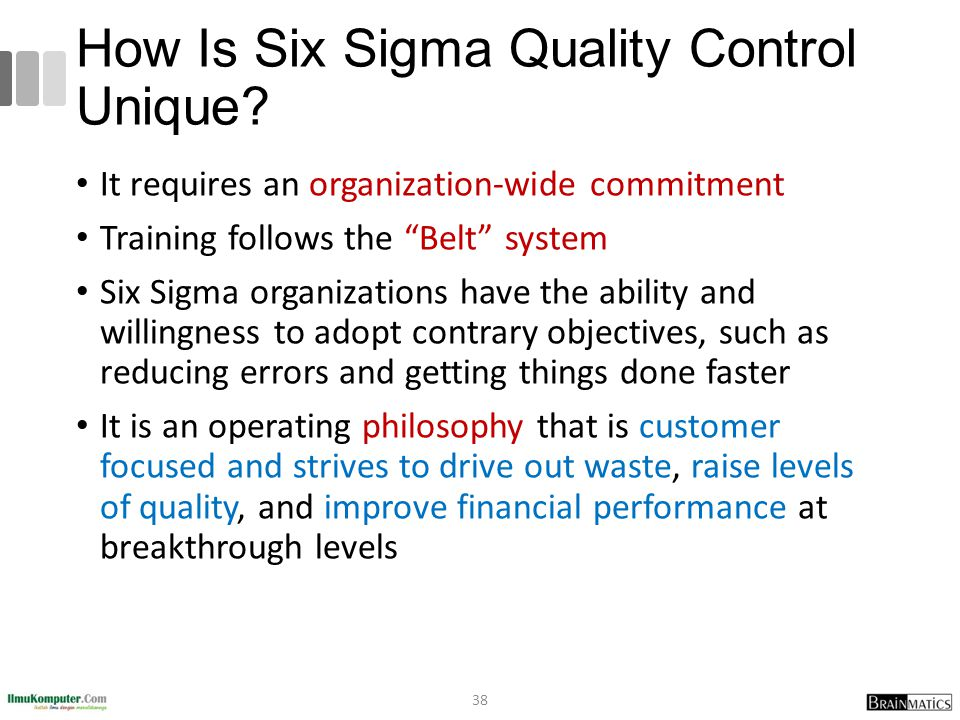 How Is Six Sigma Quality Control Unique