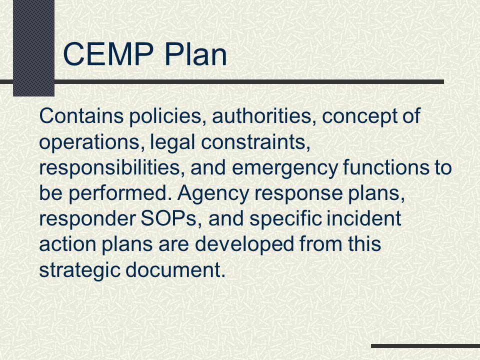 CEMP Plan