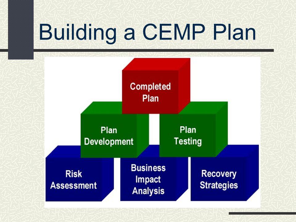 Building a CEMP Plan