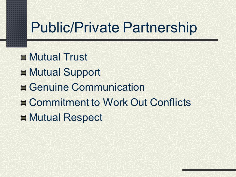 Public/Private Partnership