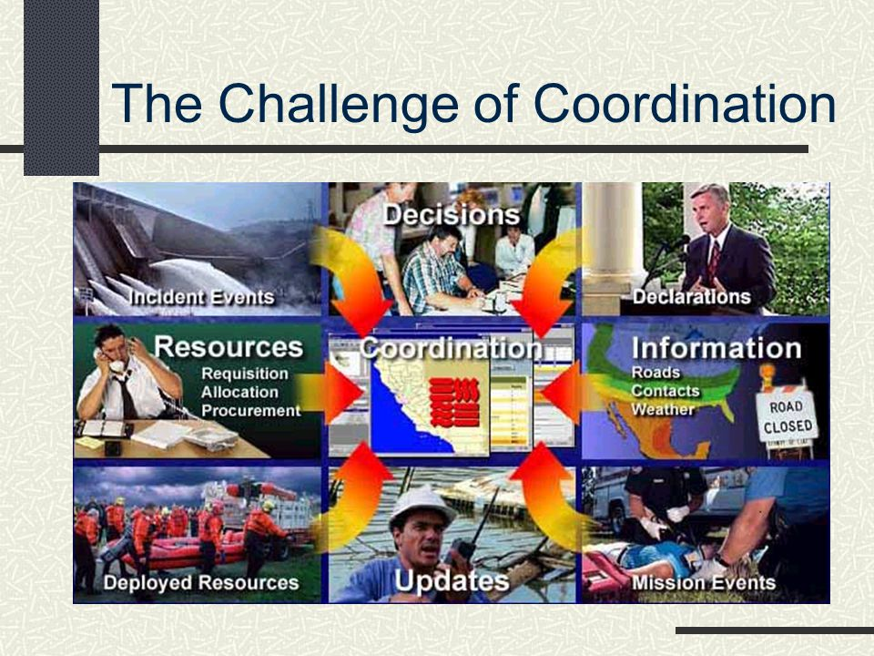 The Challenge of Coordination