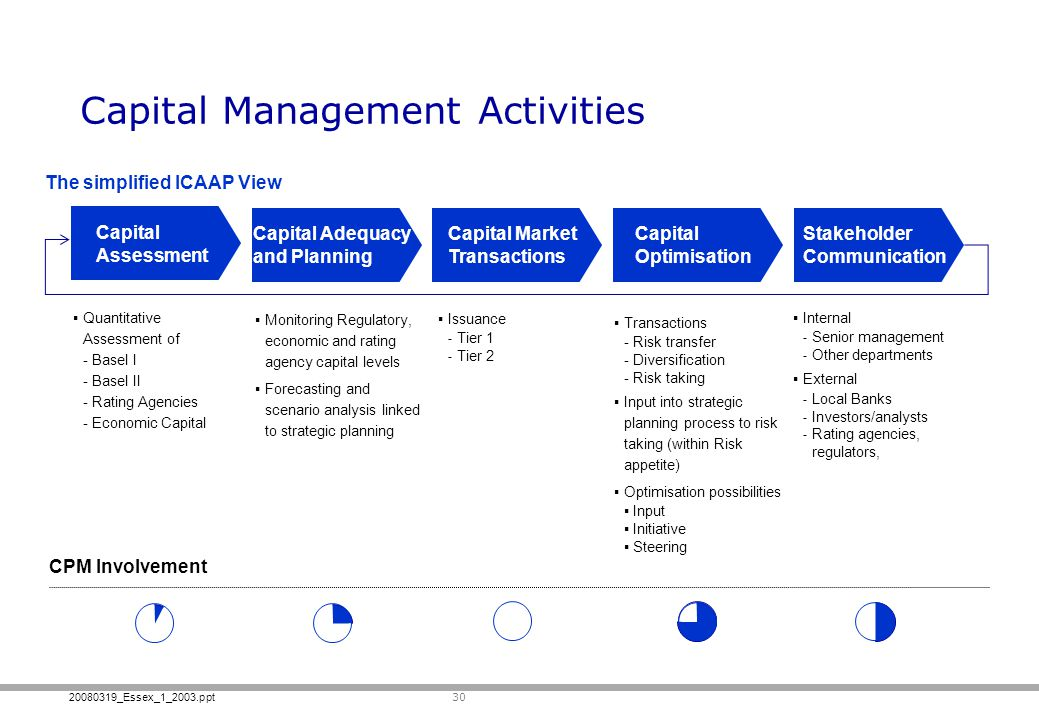 Capital Management Activities
