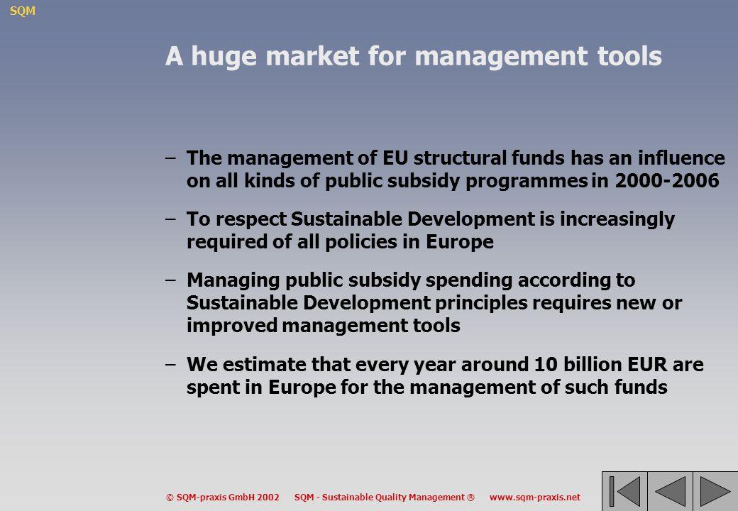A huge market for management tools