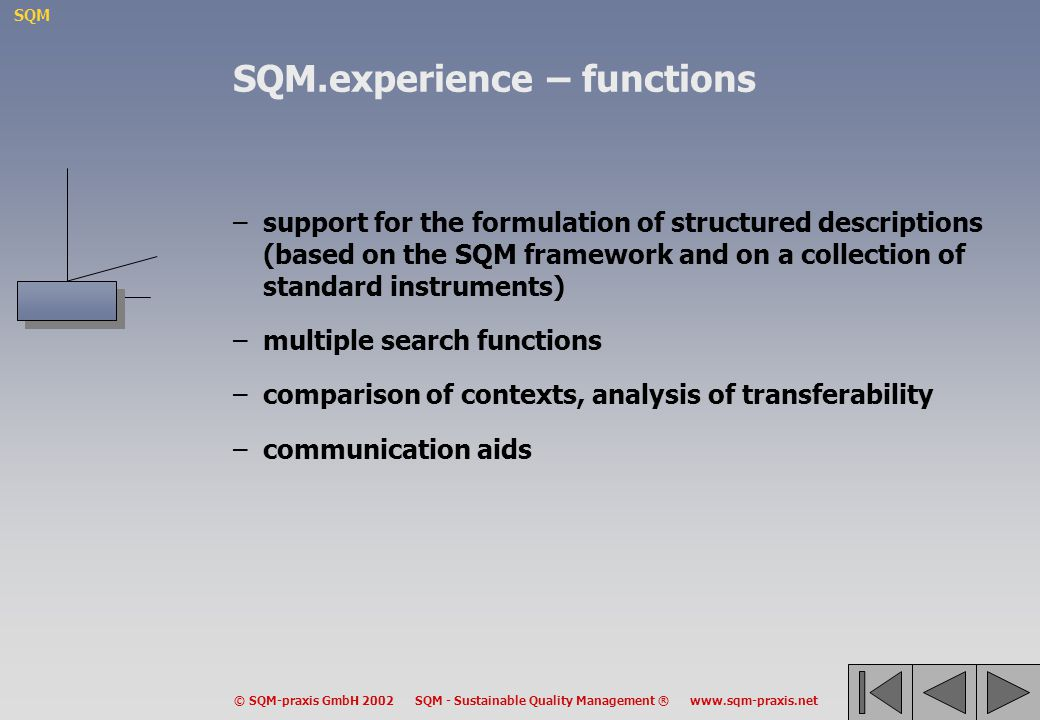 SQM.experience – functions