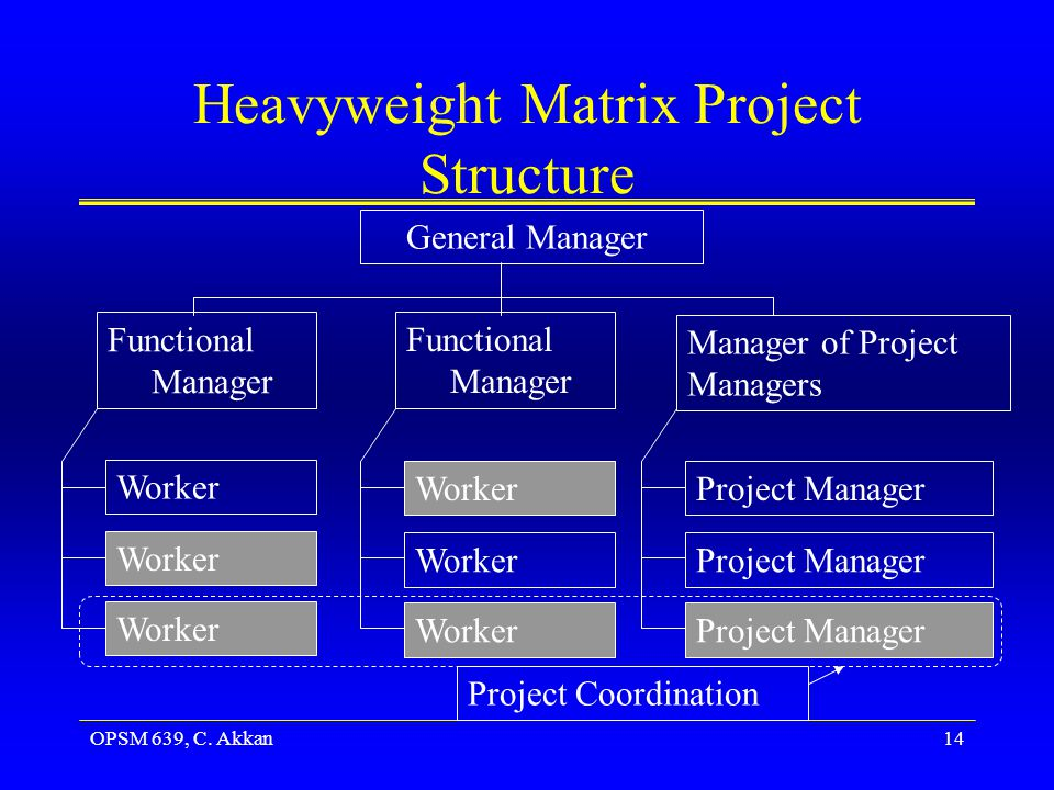 Heavyweight Matrix Project Structure