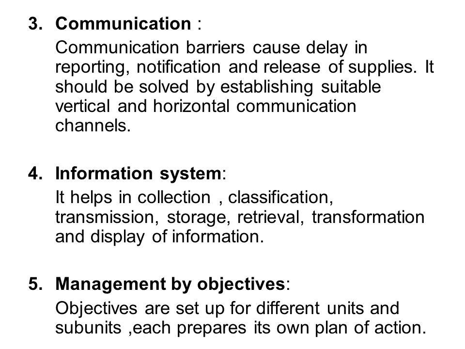 Communication :