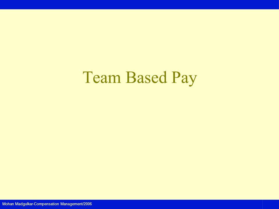 Team Based Pay