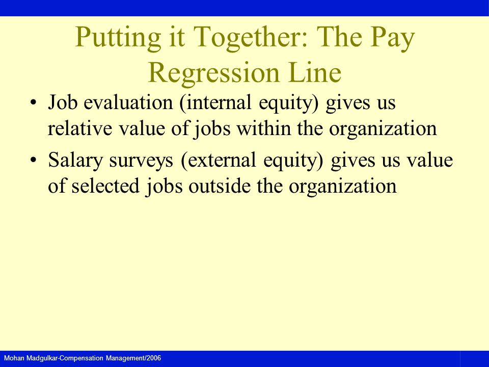 Putting it Together: The Pay Regression Line