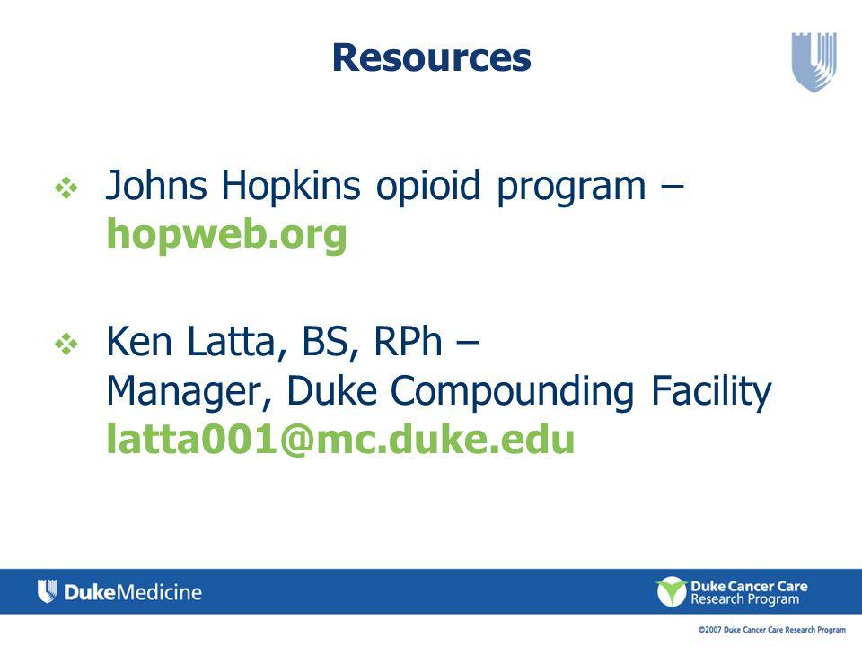 Johns Hopkins opioid program – hopweb.org