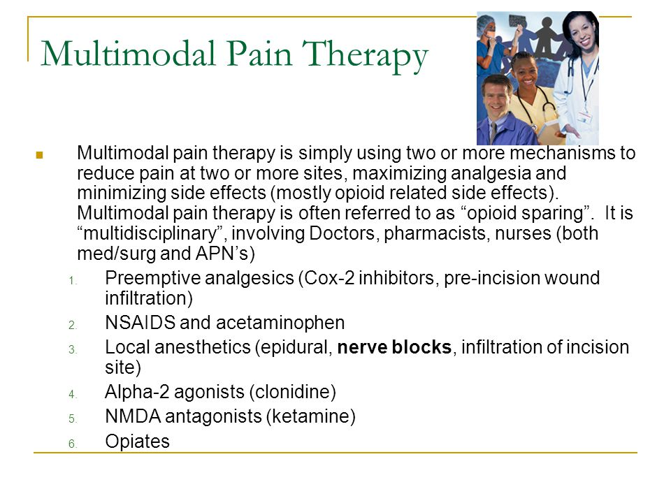 Multimodal Pain Therapy