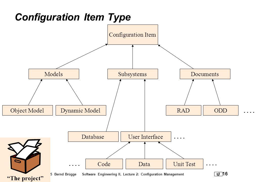 Configuration Item Type