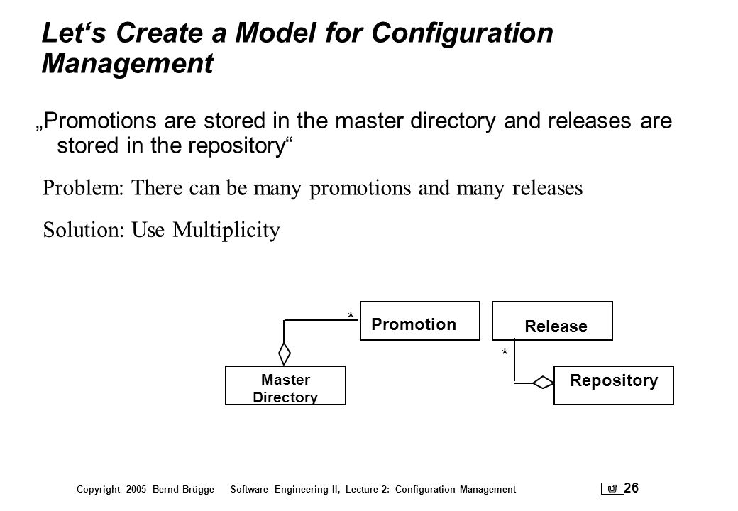 Let's Create a Model for Configuration Management