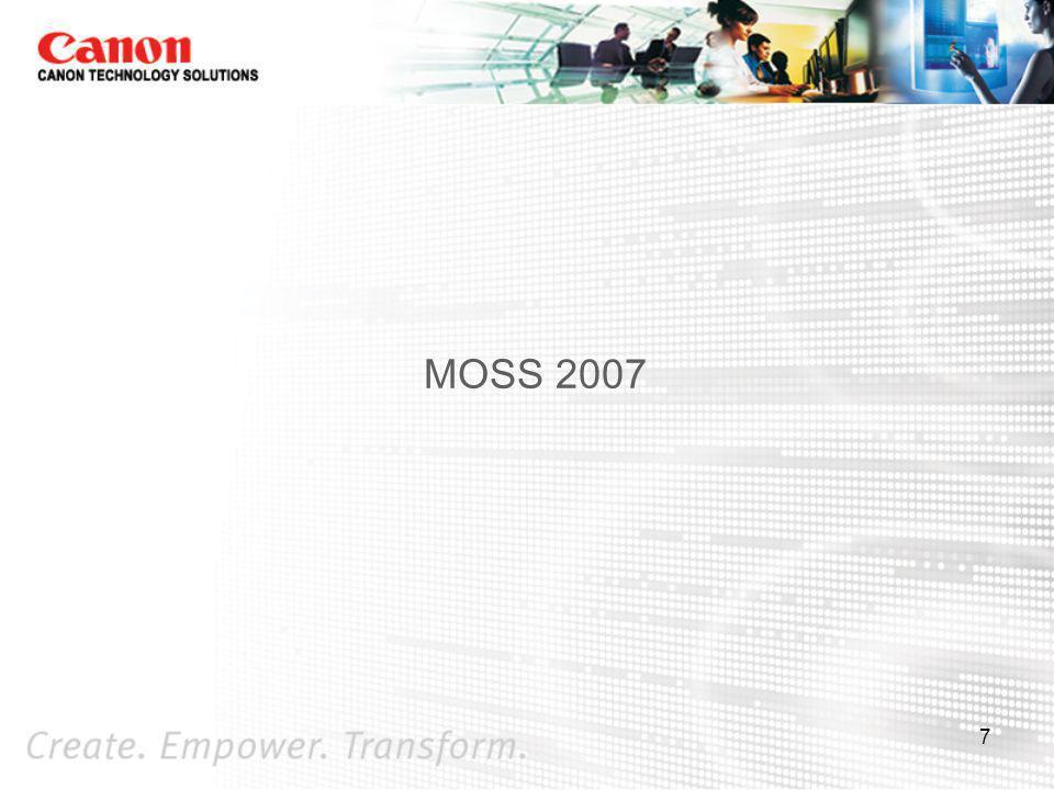 MOSS 2007