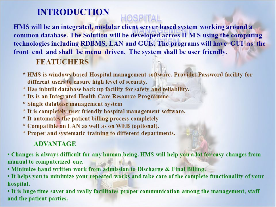Hospital Management System Ppt Download