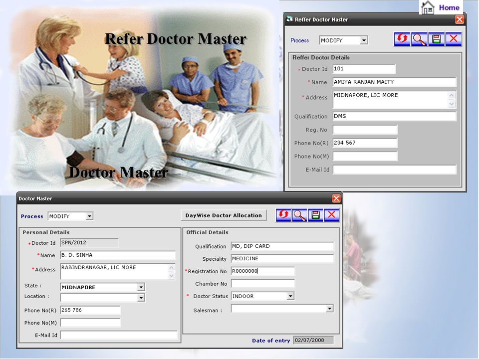 Refer Doctor Master Doctor Master
