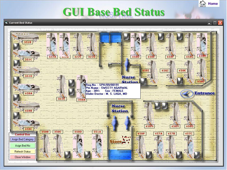 GUI Base Bed Status