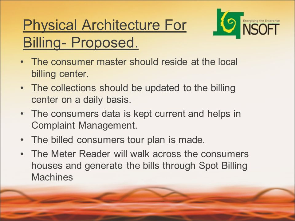 Physical Architecture For Billing- Proposed.
