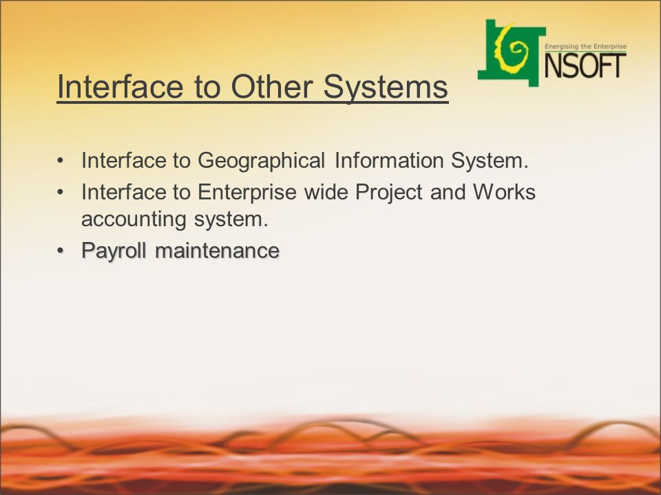 Interface to Other Systems
