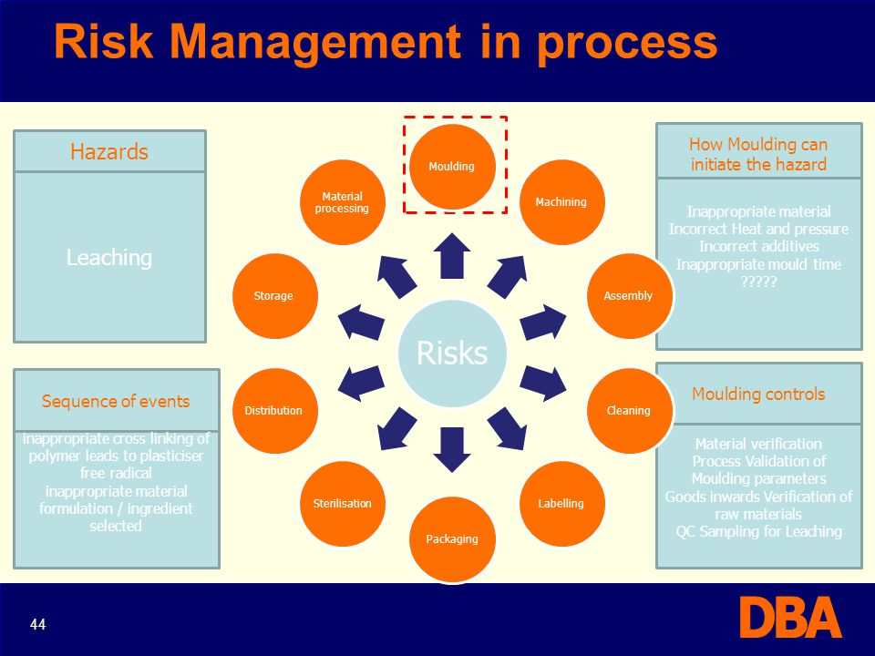 Risk Management in process